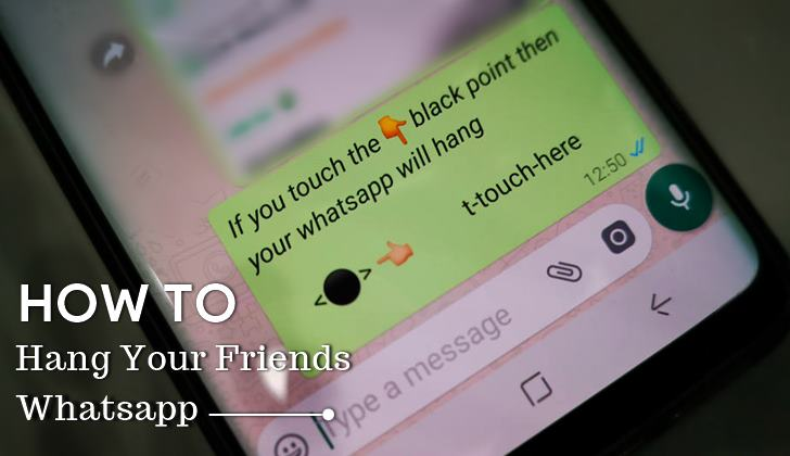 whatsapp hang message 2018