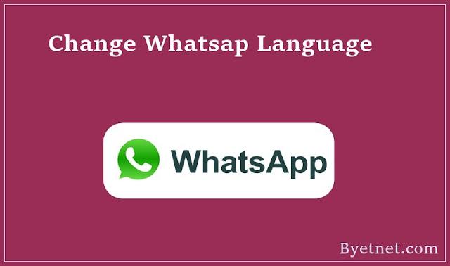 Whatsapp Language Kaise Change Kare