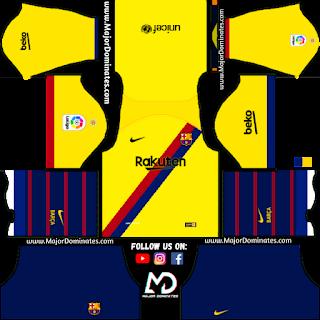 Barcelona Kits Dream League Soccer 2019 Dls - EpicGaming