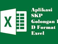 Aplikasi SKP Golongan II D Format Excel