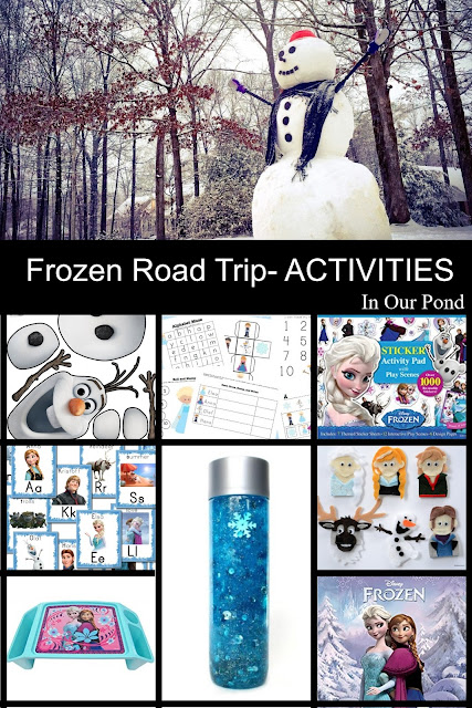 Disney's Frozen-Inspired Themed Road Trip from In Our Pond