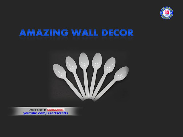 Here is plastic spoon crafts,plastic spoon wall decor ideas,plastic spoon wall hanging ideas,art&craft ideas for kids,kids crafts,how to reuse plastic spoons for home decoration ideas,kids projects for school projects,how to make room decor ideas out of plastic spoons,plastic spoon pen stand,how to make flowers using plastic spoons,how to make wall decor using with plastic spoon ssartscrafts nanduri lakshmi youtube channel videos