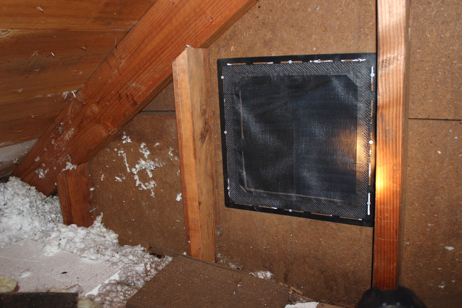 Come Along With Chong Attic Gable Vent
