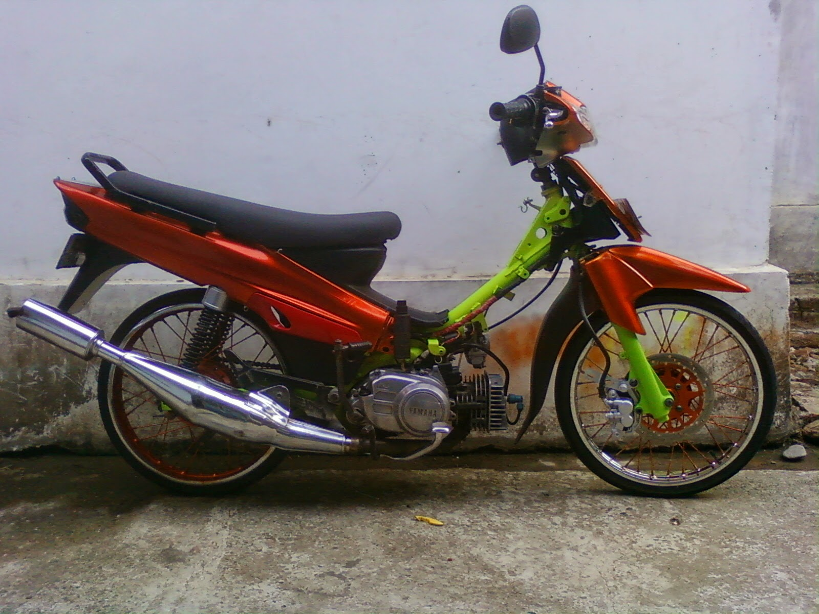 Top modifikasi motor f1zr