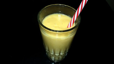 Hearty Mango Milkshake Drink Reciipr