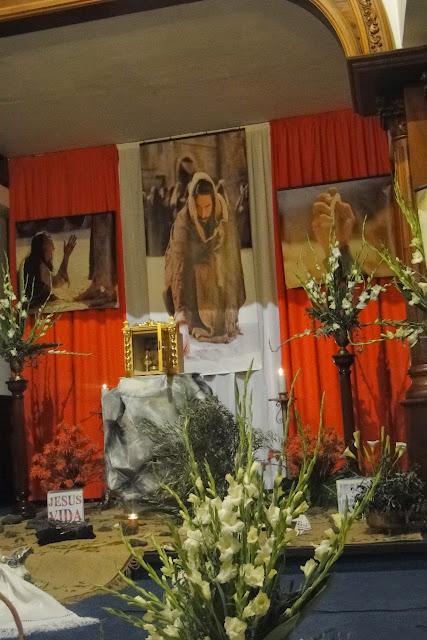 Resultado de imagen de jueves santo en parroquia guadalupe. Los Realejos