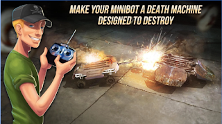 Game Robot Fighting 2 - Minibots 3D Apk