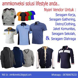konveksi & jahit seragam, jaket, almamater, jas, tas, topi, kemeja, kaos, polo jakarta tangerang