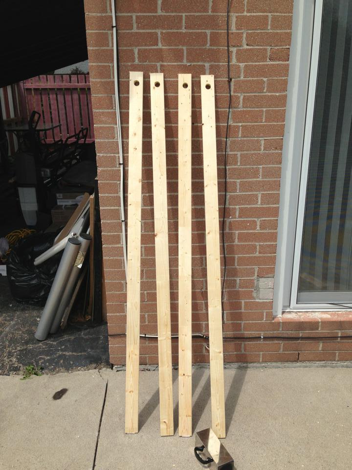 Diy Wooden Clothes Rack