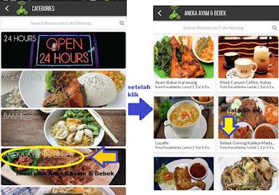 cara pesan makanan lewat gojek, cara beli makanan lewat gojek