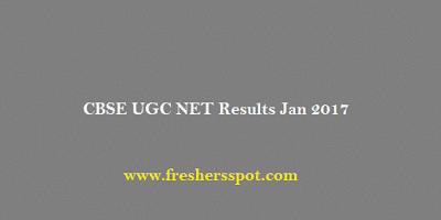 CBSE UGC NET Results Jan 2017