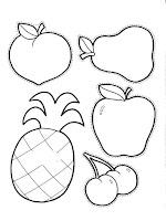 Manualidades Con Mis Hijas Pintando Racimo De Uvas Y Otras Frutas