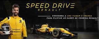 Cadastrar Promoção Renault 2017 Speedy Drive Renault