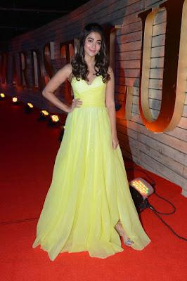 Actress Pooja Hegde Stills at Zee Cine Awards Telugu 2020