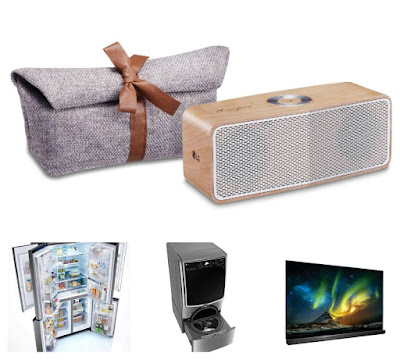 Perfect Holiday Gifts From LG
