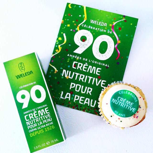 Quoi de neuf dans le monde de la beauté? 90 ans pour la crème nutririve de Weleda et...