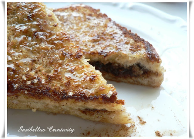 Reiche Ritter /French Toast with Nutella Filling - Sasibella