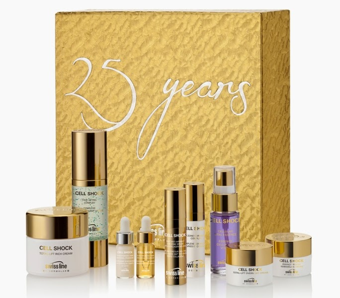 Swiss Line 25th Anniversary Christmas Coffret, Holiday Set, Holiday Kit, Swiss Line, Christmas Coffret, Christmas 2014