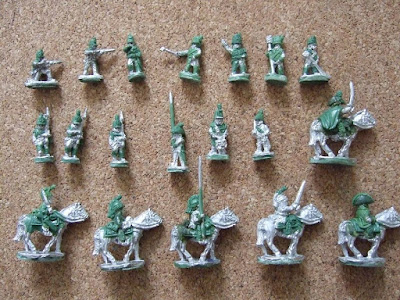 10mm Peninsular British from Lancer Miniatures