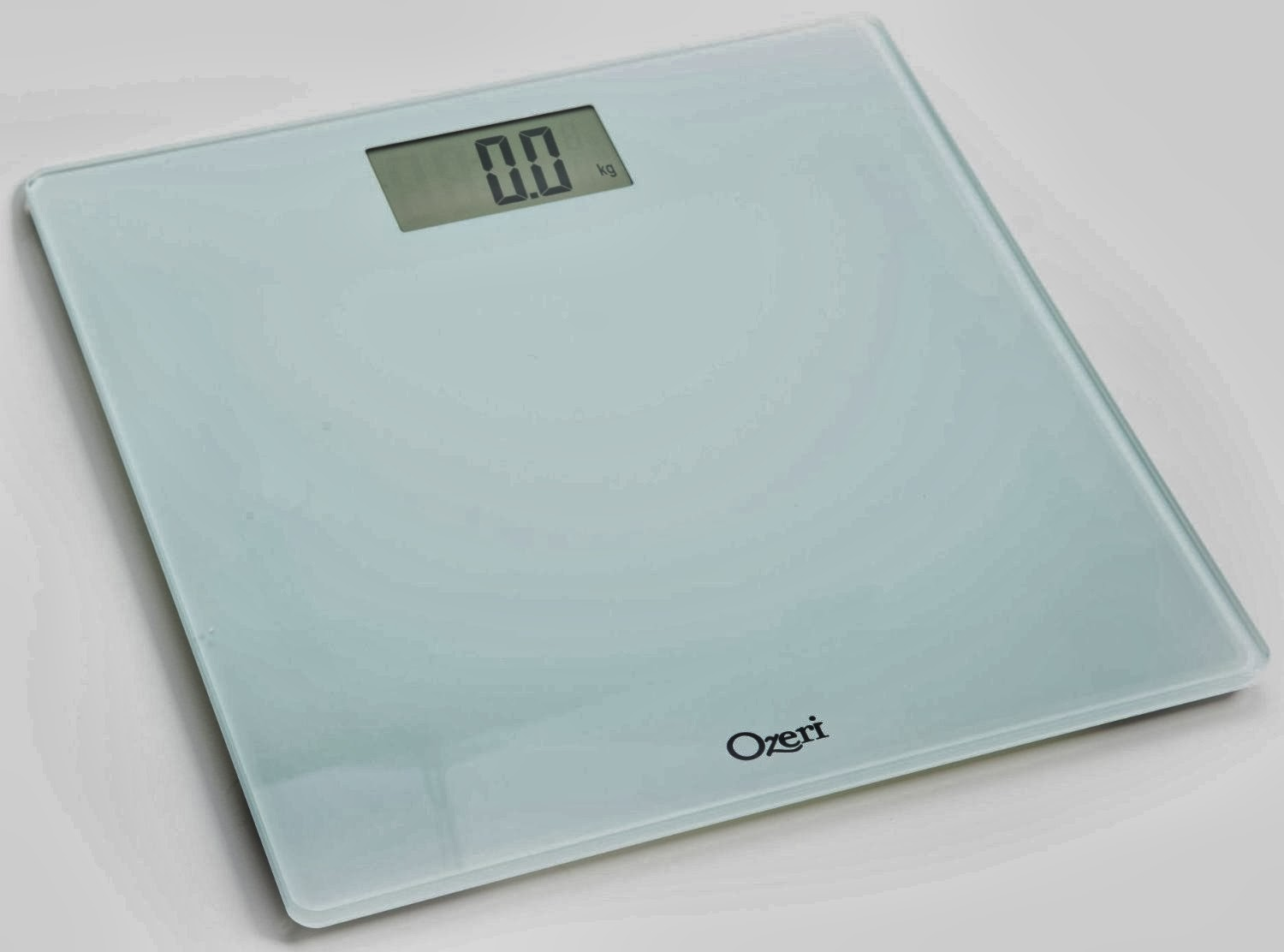 Ozeri Precision Digital Bathroom Scale on old home battery