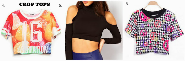 SheInside Crop Tops