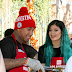 Kylie Jenner & rumoured beau Tyga help out at homeless shelter