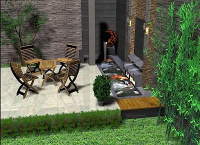 Aneka Desain Taman Rumah Minimalis