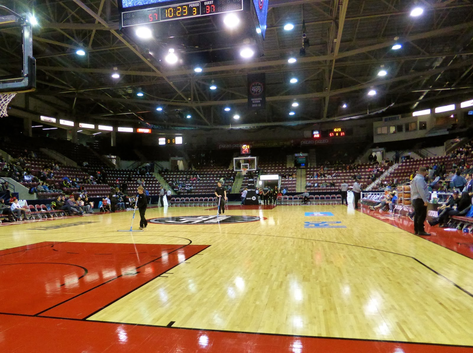 Sports Road Trips Idaho Stampede 91 At Raptors 905 93