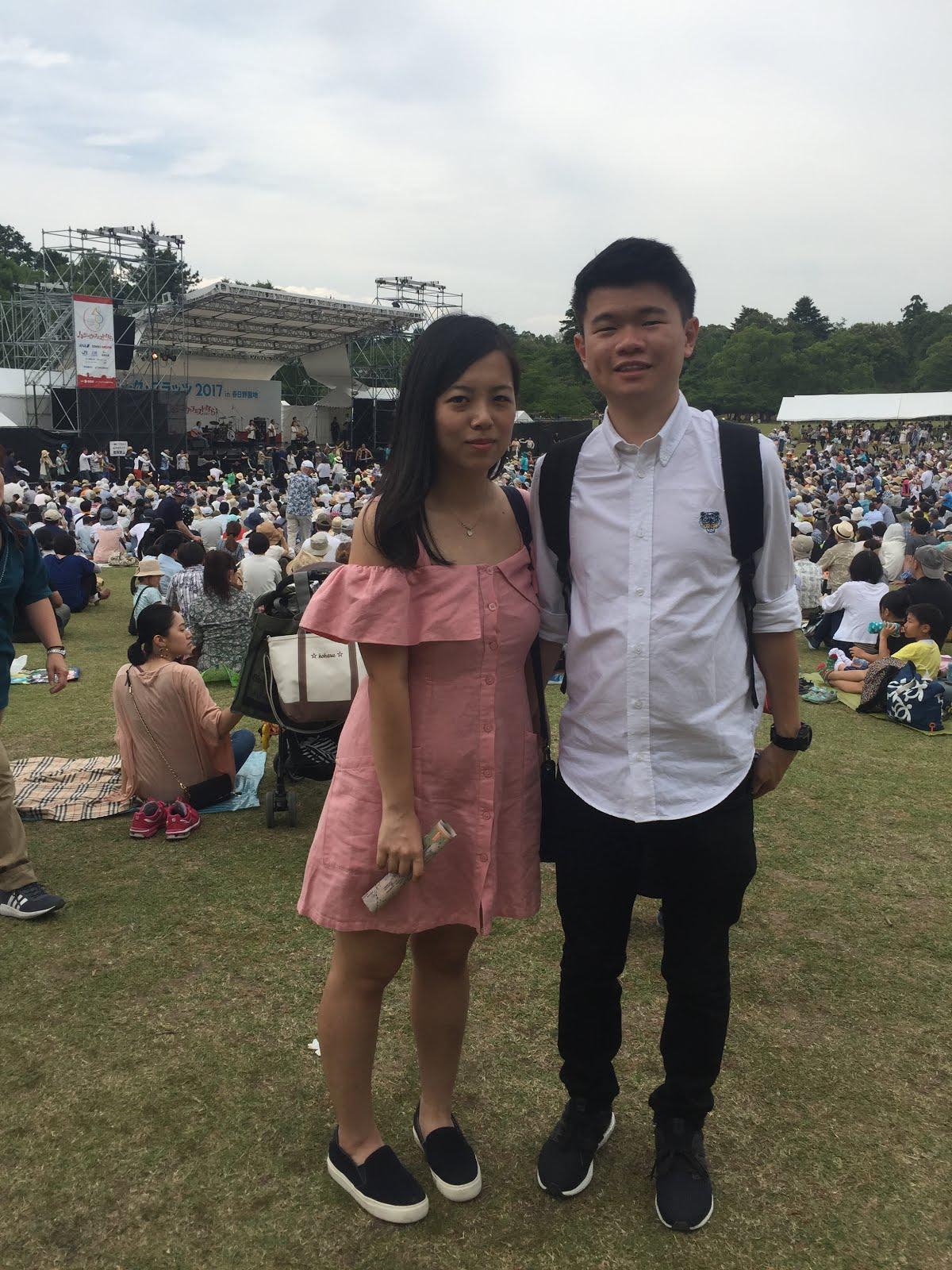 MUSIC FESTIVAL IN NARA OSAKA JAPAN