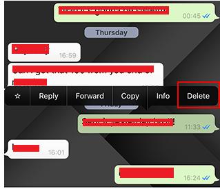 cara menarik pesan whatsapp yang sudah terkirim