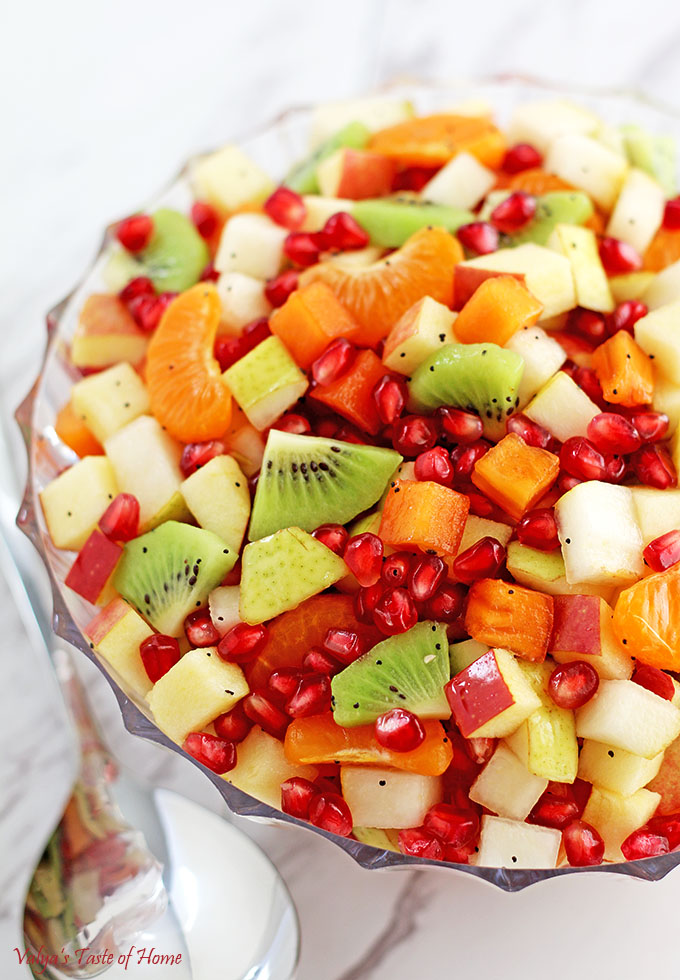 healthy fruit salad recipes easy winter fruits