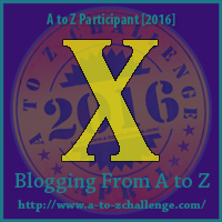 X is for: X-Ray - A Wandering Vine #AtoZChallenge