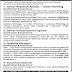 Govt. Of Punjab The Urban Unit Lahore Jobs