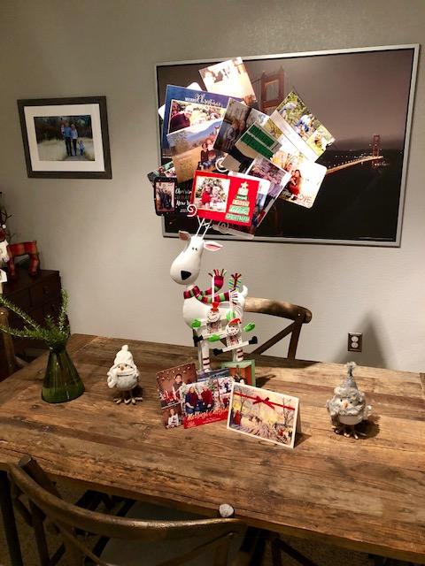 Christmas Home Tour - Christmas Card Holder