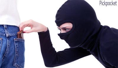 pickpocket occupation