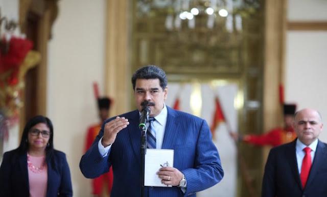 """Maduro aseguró que no le interesa que """"el cartel de Lima reconozca las instituciones de Venezuela"""""""