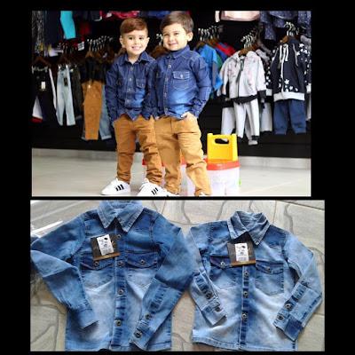Fabricante de jeans infantil
