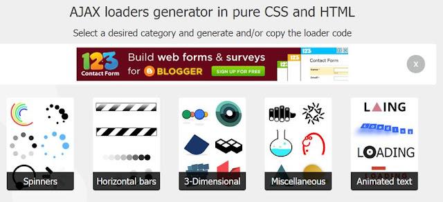 cssload-net-CSS 製作各種 Ajax 載入動畫集錦
