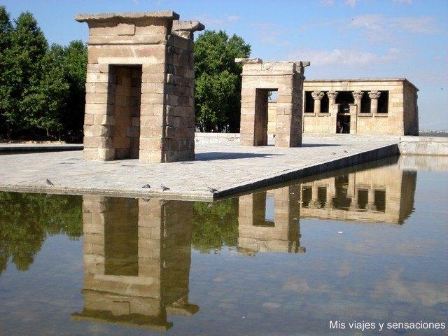 Templo de Debod, Parque del Oestre, Monte de Principe Pío, Madrid