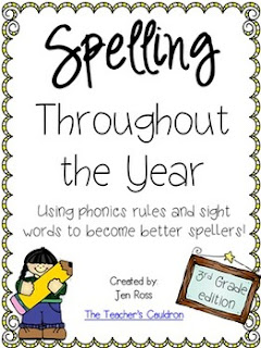 https://www.teacherspayteachers.com/Product/Spelling-Throughout-the-Year-Phonics-and-sight-words-Grade-3-793151