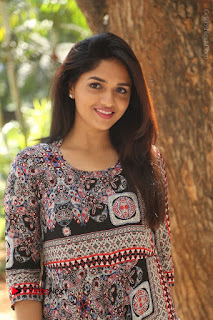 Actress Sunaina Latest Stills in Floral Dress at Pelliki Mundu Prema Katha Trailer Launch  0034.JPG