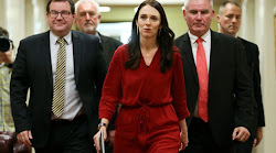 Jacinda Ardern Can't Hide His BIG BALLS! (Transvestigation Into Prime Minister Of New Zealand)