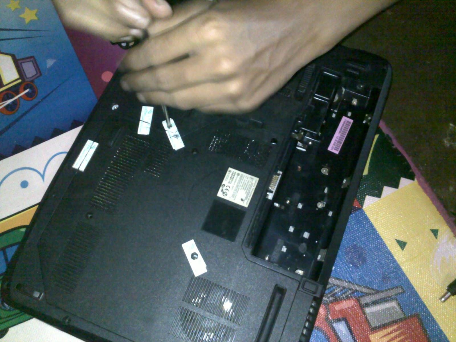 Cara Memperbaiki Laptop layar mati Acer Aspire 5315