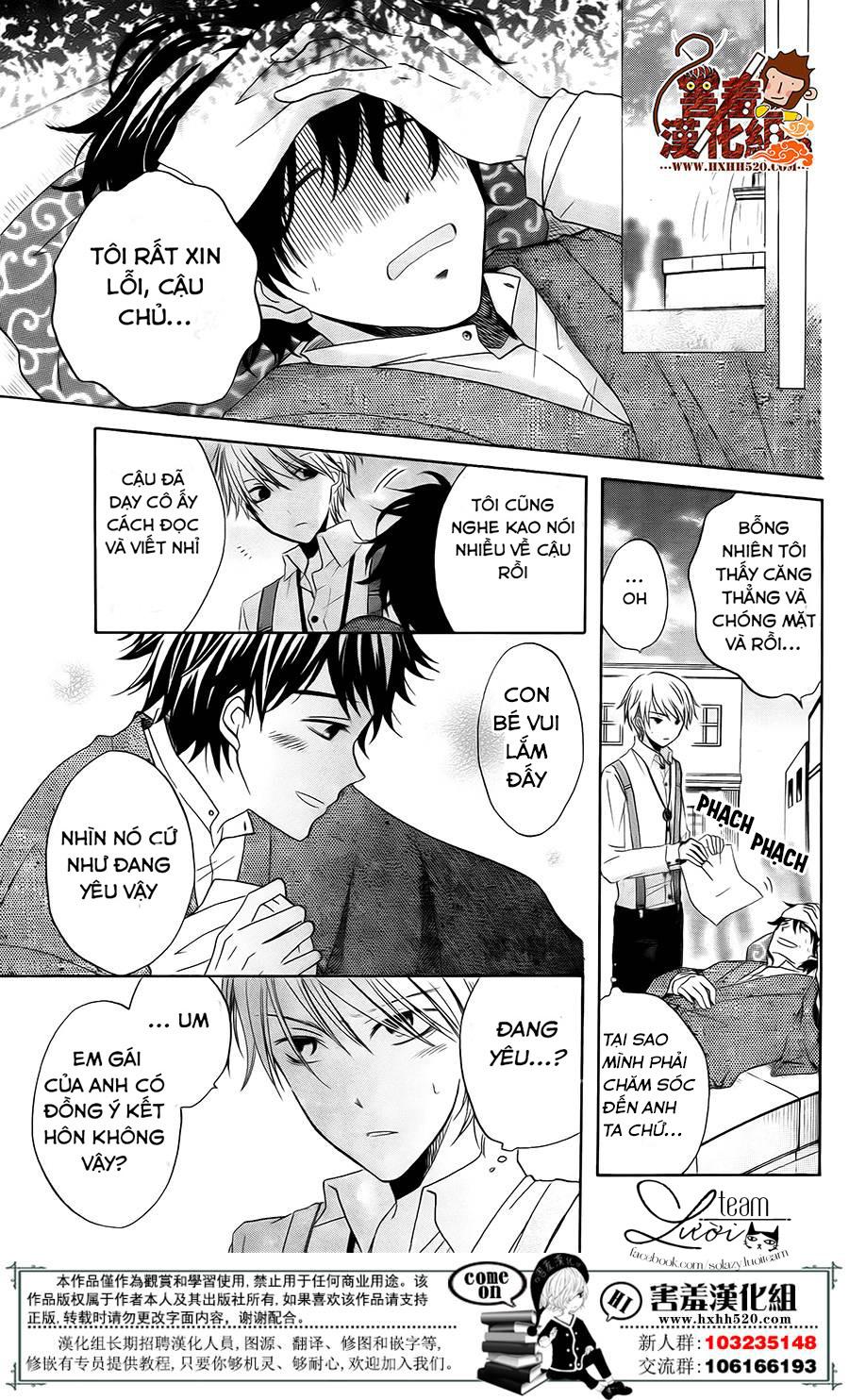 Haikei Mayumi-sama chap 3 - Trang 16