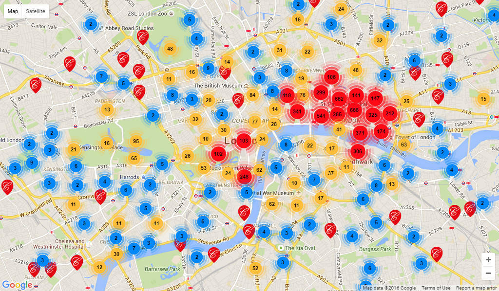 The London Picture Map