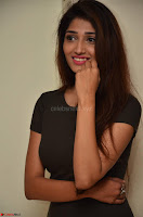 Priya Vadlamani super cute in tight brown dress at Stone Media Films production No 1 movie announcement 034.jpg