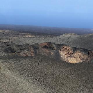 Volcanic crater, Timanfaya National Park, Lanzarote