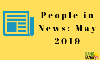 People in News: May 2019