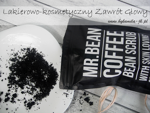 Peeling Mr.Bean kawowy coffee bean scrub