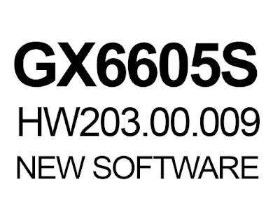 GX6605S HW203.00.009 POWERVU KEY SOFTWARE
